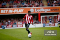 12/08/2017 Brentford v Nottingham Forest at Griffin Park. BrentfordÕs Florian JOZEFZOON