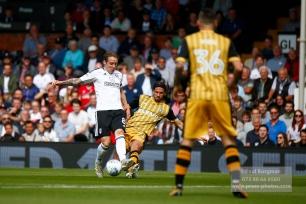 19/08/2017 Fulham v Sheffield Wednesday. Fulham's Stefan JOHANSEN