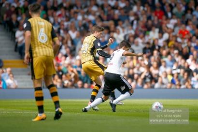 19/08/2017 Fulham v Sheffield Wednesday. Fulham's Rui FONTE