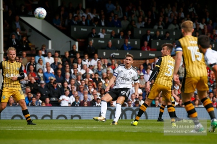 19/08/2017 Fulham v Sheffield Wednesday. Fulham's Tom CAIRNEY