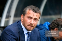 09/09/2017. Fulham v Cardiff City. Sky Bet Championship League Action. Fulham FC Manager Slavisa JOKANOVIC