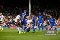 09/09/2017. Fulham v Cardiff City. Sky Bet Championship League Action. Fulhams Tim REAM shoots