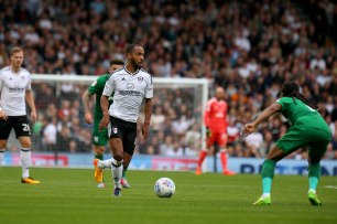 14/10/2017. Fulham v Preston North End. Action from the Sky Bet Championship. FulhamÕs Denis ODOI