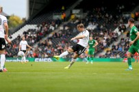 14/10/2017. Fulham v Preston North End. Action from the Sky Bet Championship. FulhamÕs Kevin MCDONALD