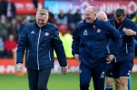 21/10/2017. Brentford v AFC Sunderland. Action from the Sky Bet Championship. Brentford's Manager Dean SMITH & Sunderland FC Manager Simon GRAYSON