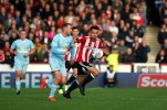 21/10/2017. Brentford v AFC Sunderland. Action from the Sky Bet Championship. Brentford's Nico YENNARIS