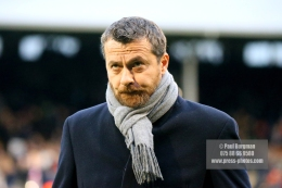 23/12/2017. Fulham v Barnsley. Action from the SkyBet Championship at Craven Cottage. Fulham FC Manager Slavisa JOKANOVIC