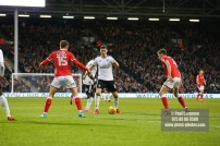 23/12/2017. Fulham v Barnsley. Action from the SkyBet Championship at Craven Cottage. FulhamÕs Tom CAIRNEY