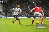 23/12/2017. Fulham v Barnsley. Action from the SkyBet Championship at Craven Cottage. FulhamÕs Ryan FREDERICKS