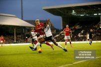 23/12/2017. Fulham v Barnsley. Action from the SkyBet Championship at Craven Cottage. FulhamÕs Ryan SESSEGNON