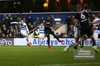 9/12/2017. Queens Park Rangers v Leeds United. Action from the SkyBet Championship QPRÕs Jack ROBINSON