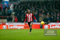 10/02/2018. Brentford v Preston North End. SkyBet Championship Match Action from Griffin Park. Brentford's Romaine SAWYERS