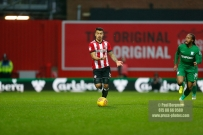 10/02/2018. Brentford v Preston North End. SkyBet Championship Match Action from Griffin Park. Brentford's Nico YENNARIS