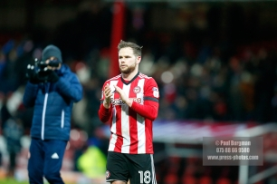 10/02/2018. Brentford v Preston North End. SkyBet Championship Match Action from Griffin Park.