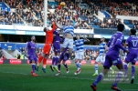 17/02/2018. Queens Park Rangers v Bolton Wanderers. SkyBet Championship Action from Loftus Road. QPRÕs Matt SMITH battles