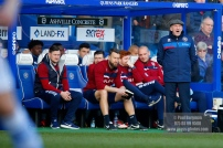 17/02/2018. Queens Park Rangers v Bolton Wanderers. SkyBet Championship Action from Loftus Road. Queens Park Rangers Manager Ian HOLLOWAY