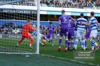17/02/2018. Queens Park Rangers v Bolton Wanderers. SkyBet Championship Action from Loftus Road. QPRÕs Luke FREEMAN goes close
