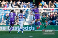 17/02/2018. Queens Park Rangers v Bolton Wanderers. SkyBet Championship Action from Loftus Road. QPR's Jack ROBINSON