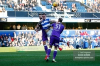 17/02/2018. Queens Park Rangers v Bolton Wanderers. SkyBet Championship Action from Loftus Road. QPR's Matt SMITH