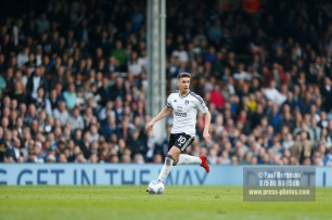 14/04/2018. Fulham v Brentford. SkyBet Championship Action from Craven Cottage. FulhamÕs Tom CAIRNEY