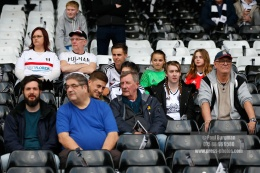 14/04/2018. Fulham v Brentford. SkyBet Championship Action from Craven Cottage.