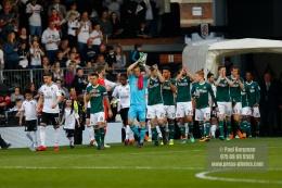 14/04/2018. Fulham v Brentford. SkyBet Championship Action from Craven Cottage.