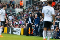 14/04/2018. Fulham v Brentford. SkyBet Championship Action from Craven Cottage. Fulham FC Manager Slavisa JOKANOVIC