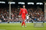 14/04/2018. Fulham v Brentford. SkyBet Championship Action from Craven Cottage. FulhamÕs Goalkeeper Marcus BETTINELLI