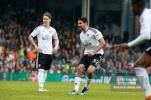 14/04/2018. Fulham v Brentford. SkyBet Championship Action from Craven Cottage. FulhamÕs Aleksandar MITROVIC