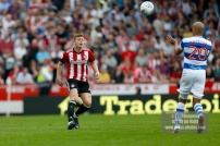 21/04/2018. Brentford v Queens Park Rangers SkyBet Championship Action from Griffin Park. Brentford's Lewis MACLEOD
