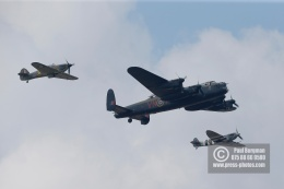 21/07/2018 Pictures from Farnborough International Airshow. Battle Of Britain Memorial Flight