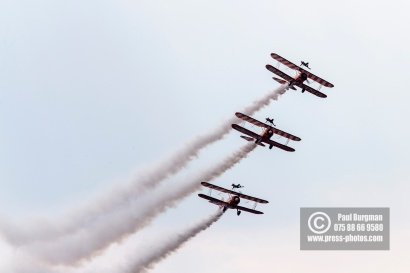 21/07/2018 Pictures from Farnborough International Airshow. Breitling Wing Walkers