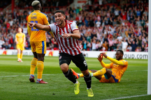 Brentford v Wigan Athletic EFL Sky Bet Championship 15/09/2018.