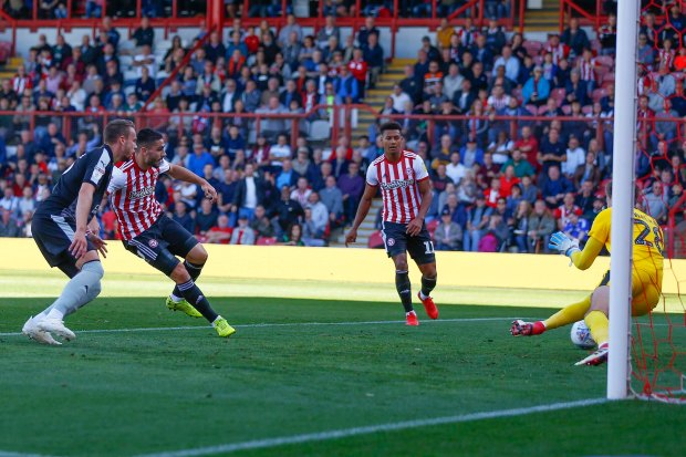 Brentford v Reading EFL Sky Bet Championship29/09/2018.