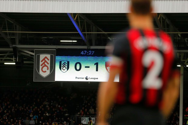 Fulham v Bournemouth Premier League 27/10/2018.