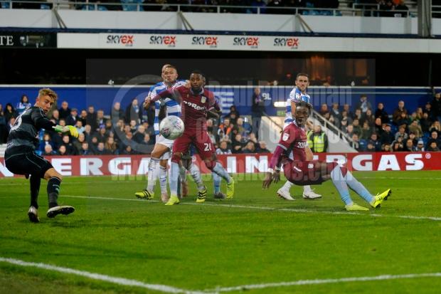 Queens Park Rangers v Aston Villa EFL Sky Bet Championship26/10/2018.
