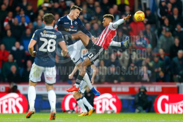 Brentford v Millwall EFL Sky Bet Championship03/11/2018.