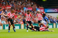 03/08/2019 From Paul Burgman/Press-Photos.com. Brentford v Birmingham City in the Championship. Brentford double up on CityÕs Midfielder Jacques Maghoma