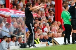 03/08/2019 From Paul Burgman/Press-Photos.com. Brentford v Birmingham City in the Championship. An animated CityÕs Manager Pep Clotet