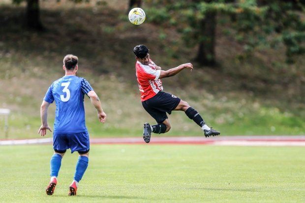 07/09/2019 From Paul Burgman/Press-Photos.com. Guildford City v Colliers Wood